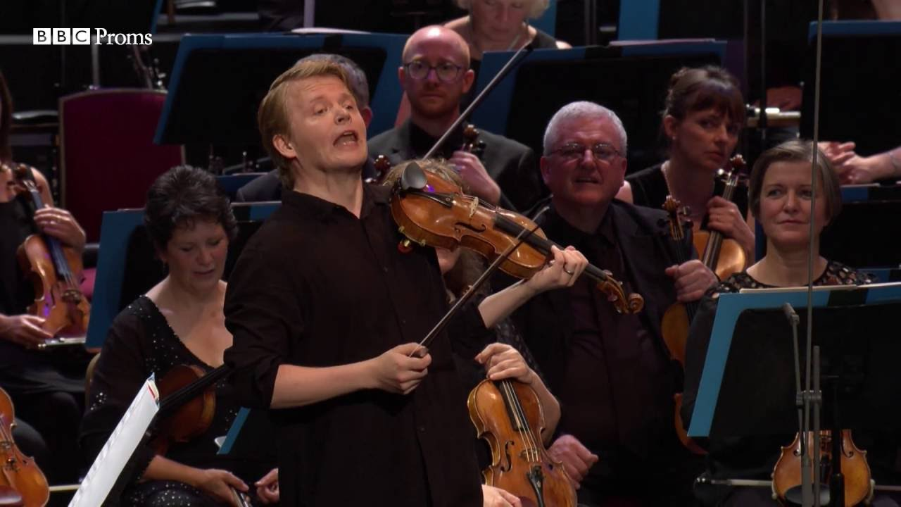 video: Pekka Kuusisto, BBC Music