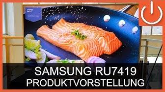 Samsung UE50RU7419, LED-TV 2019,  - Produktvorstellung - THOMAS ELECTRONIC ONLINE SHOP
