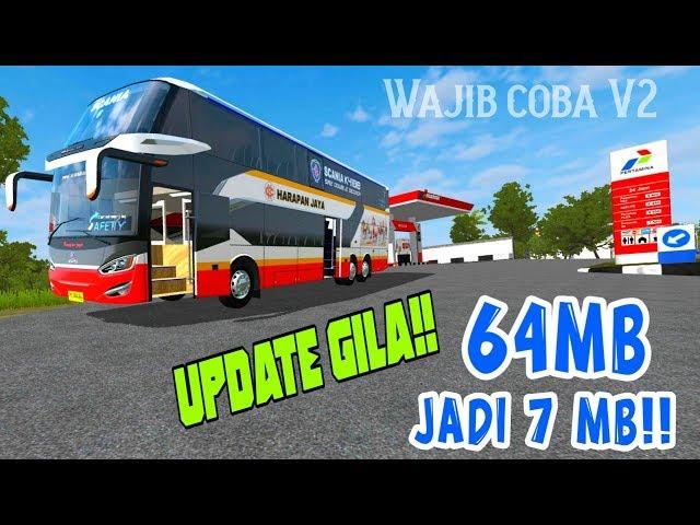 Mod Mod Mod SR2 DD V2 | Bussid Gameplays HD