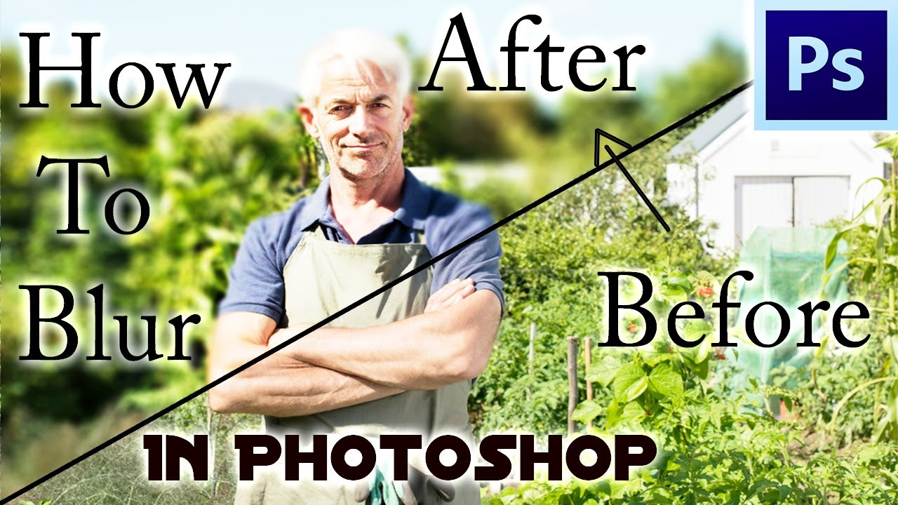 How to Blur Background Like a Pro in Photoshop   Easy ...