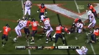 David Wilson vs Virginia 2011