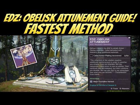 EDZ: Obelisk Attunement Guide! Fastest Method! (Destiny 2 Season Of Dawn)