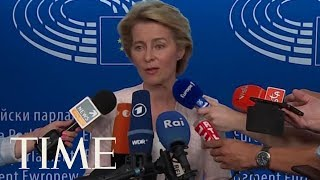 Ursula Von Der Leyen, The 1st Woman Nominated For One Of Europe's Top Jobs On Her Proposals | TIME
