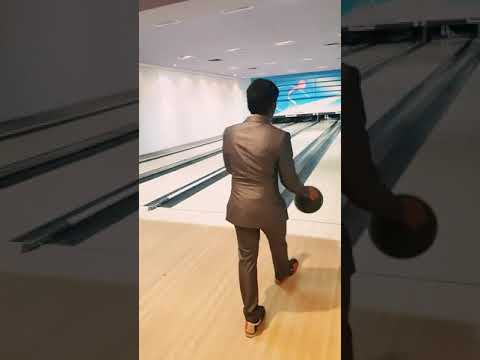 Bowling in saudi Arabia 'strike !!!!!!