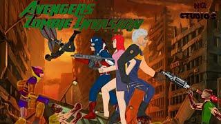 Мстители: Нашествие Зомби тизер-трейлер // (рисуем мультфильмы 2)