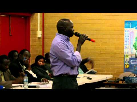 Equatoria Association in Melbourne General Assembly Meeting 2011-13