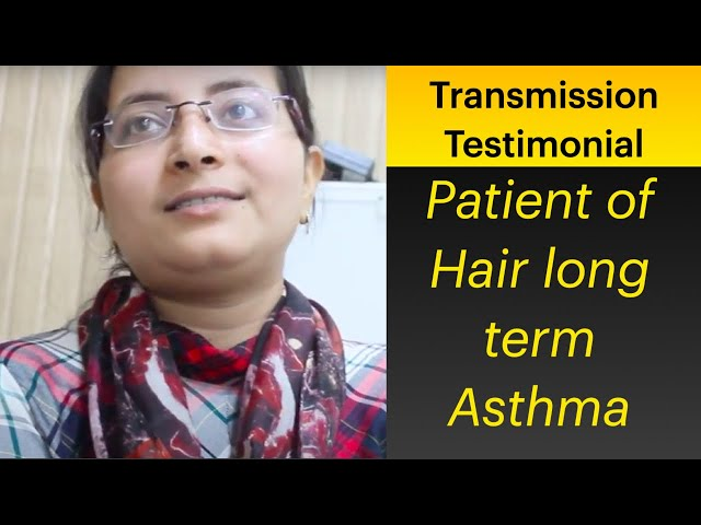 Patient of Asthma Giving testimonial