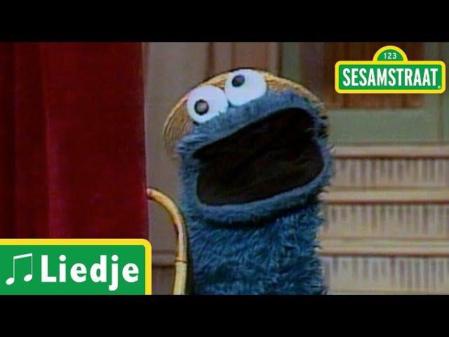 Pluizig en blauw - Liedje - Sesamstraat