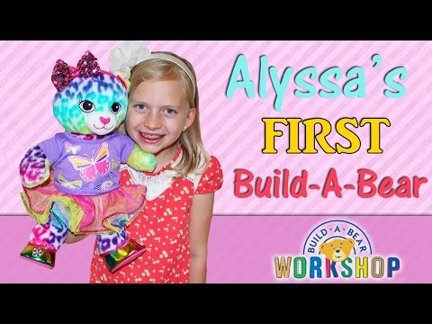 Alyssa's First Build-A-Bear