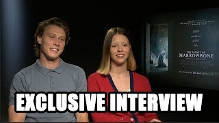 The Secret of Marrowbone - George MacKay and Mia Goth - Exclusive Interview