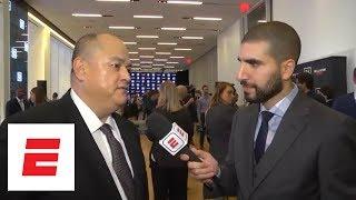 Scott Coker talks Gegard Mousasi-Rory MacDonald, Rampage Jackson-Wanderlei Silva, DAZN deal | ESPN
