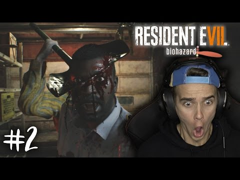 HE'S BEHIND YOU! | RESIDENT EVIL 7 #2