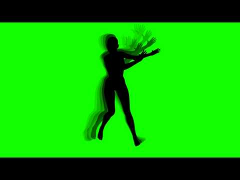 FREE HD Green Screen SILHOUETTE HIP HOP
