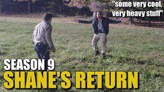 The Walking Dead Season 9 Shane News - Shane's Return News & Discussion
