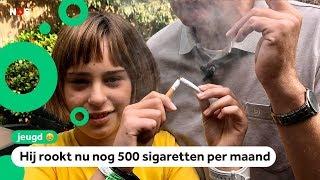 Marilottes vader wil stoppen met roken tijdens Stoptober