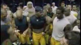 Joey Porter Steelers locker room celebration post-Indy