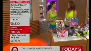 QVC: Zumba DVD
