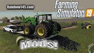 Farming simulator 19  -  First Chevy and Gooseneck mod!