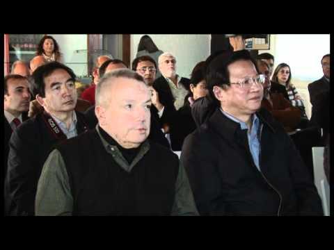 OSCAR SOLÍS Y EL MINISTRO DE GRANOS DE CHINA, RECORRIERON LA PLANTA LOUIS DREYFUS