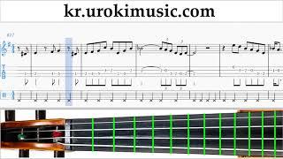 바이올린 배우기 The Pink Panther - Theme Song 운지법 2 부 um-i359