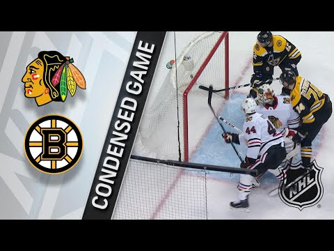 03/10/18 Condensed Game: Blackhawks @ Bruins