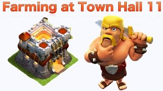 Clash of Clans - HOW TO FARM AT Town Hall 11 (TH11)  (Tips & Tricks)