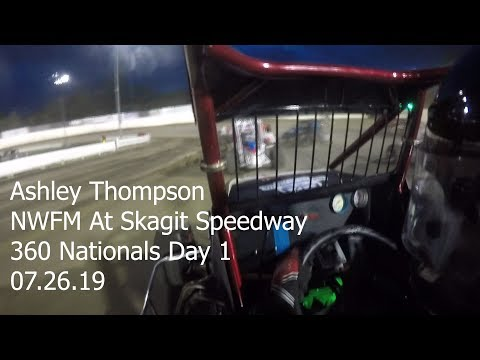 Ashley Thompson At Skagit Speedway:360 Nationals Day 1