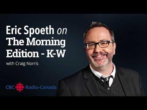 Eric Spoeth Interview with CBC Radio Kitchener