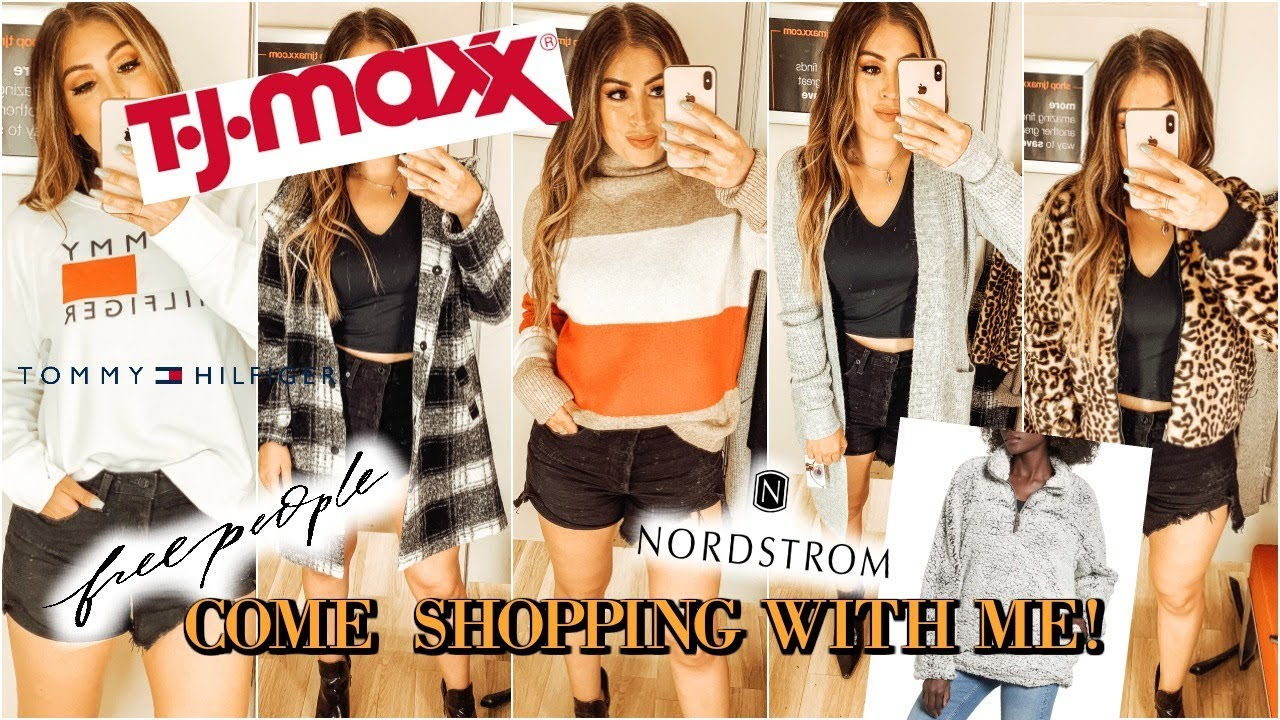 ef42cc4a You WON'T believe the FALL FASHION I FOUND AT TJMAXX & COME SHOPPING WITH ME