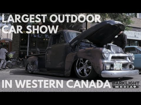 LARGEST OUTDOOR CAR SHOW IN WESTERN CANADA
