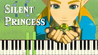 Silent Princess - Breath of the Wild (Memory #9) [Piano Synthesia Tutorial]
