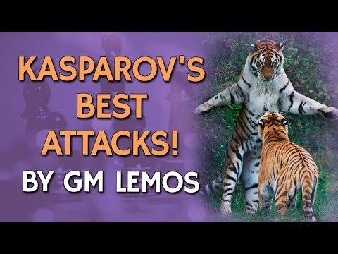Kasparov's Best Attacks 🗡 by GM Damian Lemos