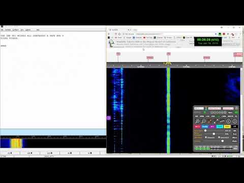 Decode of WLO Marine anti-piracy report at 8473 kHz
