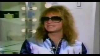 DAVID LEE ROTH ☠ UK TV INTERVIEW ☠ VAN HALEN 1984 TOUR