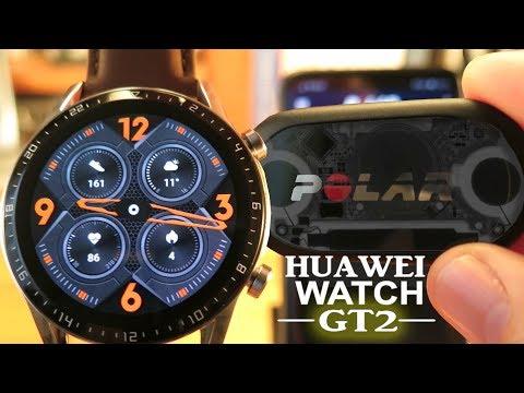 Huawei Watch GT 2 vs Polar H10 Heart Rate Sensor