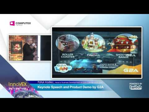 2016 InnoVEX Pi Stage-Keynote Speech and Product Demo by G2A