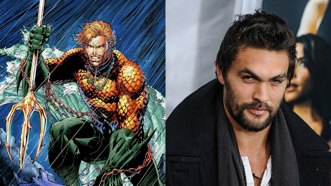 who is playing aquaman in justice league