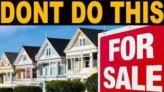 The 5 WORST MISTAKES you can make if the Real Estate Market DROPS
