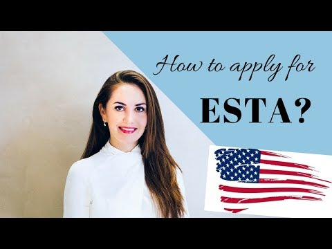 HOW TO FILL OUT AN ESTA FORM ONLINE✔️🇺🇸