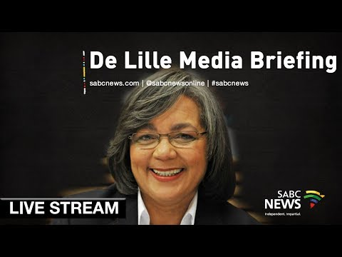 Cape Town Mayor Patricia de Lille news conference, 29 October 2018