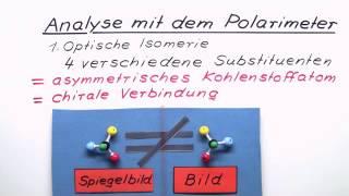 Wie führe ich eine Analyse mit dem Polarimeter durch? | Chemie | Analytische Chemie