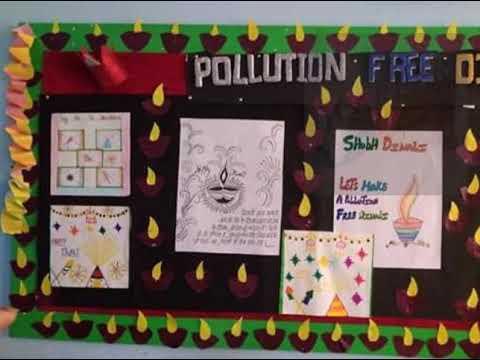 Bulletin Board Ideas On Diwali School Display Decoration