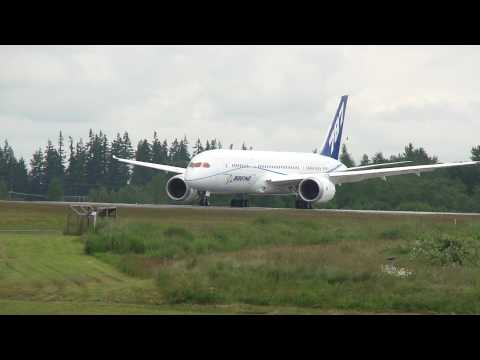 First Boeing 787 with GE GEnx engines