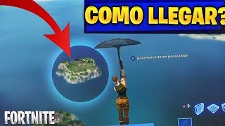 HOW TO GET TO SECRET ISLAND OR SPAW IN FORTNITE: Battle Royale