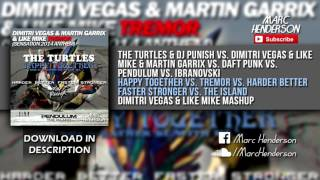 DV&LM - Happy Together vs. Tremor vs. Harder Better Faster Stronger vs. The Island (DV&LM Mashup)