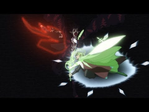 Asta And Yuno Vs. Demon - Final Fight, Yami Help To Defeat Demon With Ki (Dimension Slash)