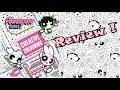 Powerpuff Girls Creative coloring book REVIEW