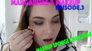 Triangle Makeup Sponge Full Face Challenge