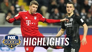 Eintracht Frankfurt vs. Bayern Munich | 2018-19 Bundesliga Highlights