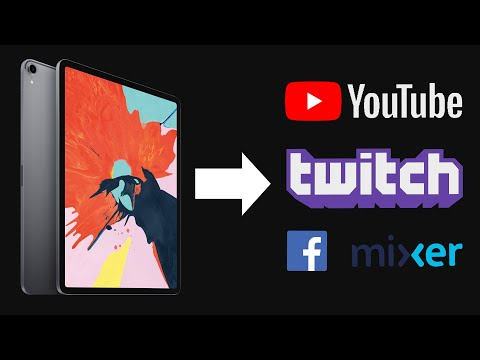How To Live Stream IPad To YouTube, Twitch, Or Other Platforms // Works With Procreate And Most Apps